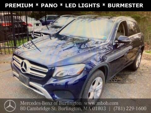 2018 Mercedes-Benz GLC for sale at Mercedes Benz of Burlington in Burlington MA