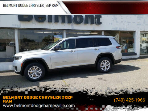 2021 Jeep Grand Cherokee L for sale at BELMONT DODGE CHRYSLER JEEP RAM in Barnesville OH