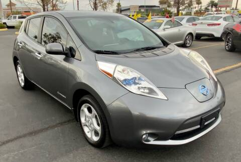 2015 Nissan LEAF for sale at Charlie Cheap Car in Las Vegas NV