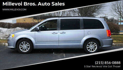 2013 Dodge Grand Caravan for sale at Millevoi Bros. Auto Sales in Philadelphia PA