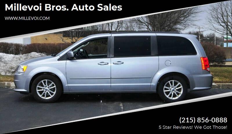 2013 Dodge Grand Caravan for sale at Millevoi Bros. Auto Sales in Philadelphia PA