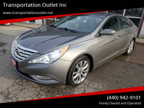 2012 Hyundai Sonata for sale at Transportation Outlet Inc in Eastlake OH
