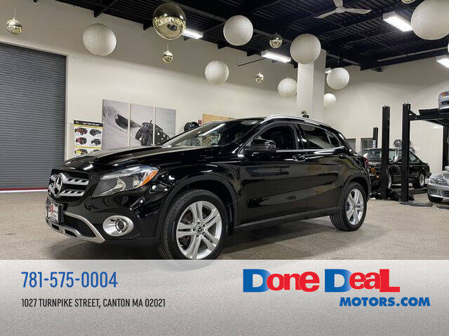 2019 Mercedes-Benz GLA for sale at DONE DEAL MOTORS in Canton MA
