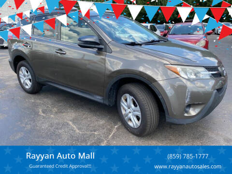 2014 Toyota RAV4 for sale at Rayyan Auto Mall in Lexington KY