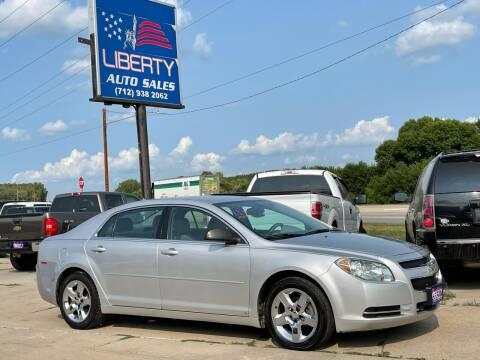 2009 Chevrolet Malibu for sale at Liberty Auto Sales in Merrill IA