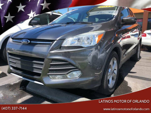 2015 Ford Escape for sale at LATINOS MOTOR OF ORLANDO in Orlando FL