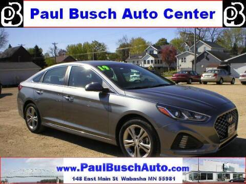 2019 Hyundai Sonata for sale at Paul Busch Auto Center Inc in Wabasha MN