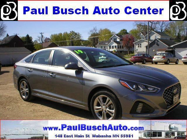2019 Hyundai Sonata for sale at Paul Busch Auto Center Inc in Wabasha MN