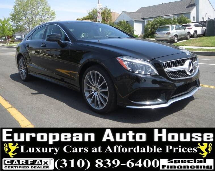 2018 Mercedes-Benz CLS for sale at European Auto House in Los Angeles CA