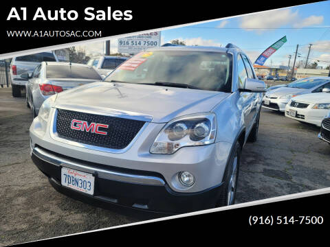 2011 GMC Acadia for sale at A1 Auto Sales in Sacramento CA