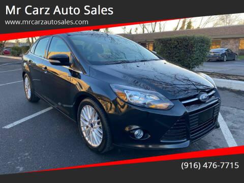 2014 Ford Focus for sale at Mr Carz Auto Sales in Sacramento CA