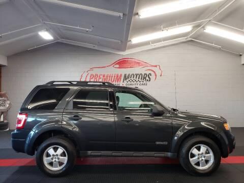 2009 Ford Escape for sale at Premium Motors in Villa Park IL