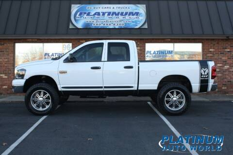 2007 Dodge Ram Pickup 2500 for sale at Platinum Auto World in Fredericksburg VA