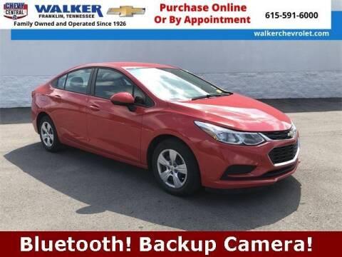 2017 Chevrolet Cruze for sale at WALKER CHEVROLET in Franklin TN