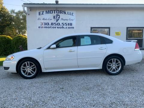 2011 Chevrolet Impala for sale at EZ Motors in Deerfield OH