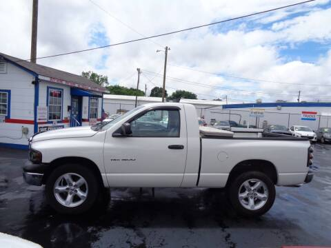 2004 Dodge Ram Pickup 1500 for sale at Cars Unlimited Inc in Lebanon TN