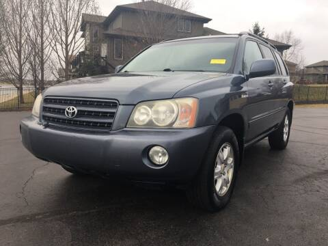 2002 Toyota Highlander for sale at Nice Cars in Pleasant Hill MO