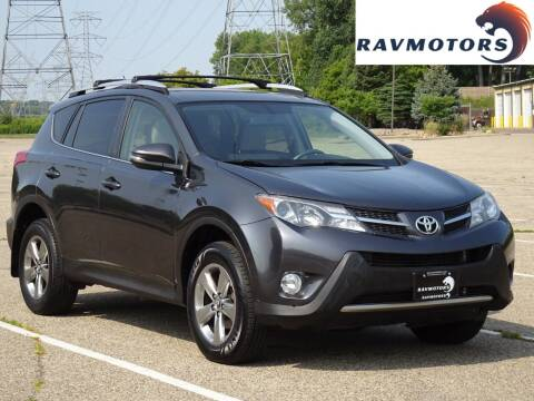2015 Toyota RAV4 for sale at RAVMOTORS in Burnsville MN