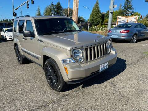2010 Jeep Liberty for sale at KARMA AUTO SALES in Federal Way WA