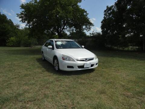 2007 Honda Accord for sale at Vamos-Motorplex in Lewisville TX