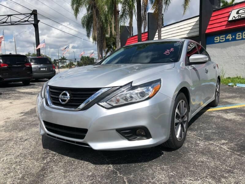 2017 Nissan Altima for sale at Gtr Motors in Fort Lauderdale FL