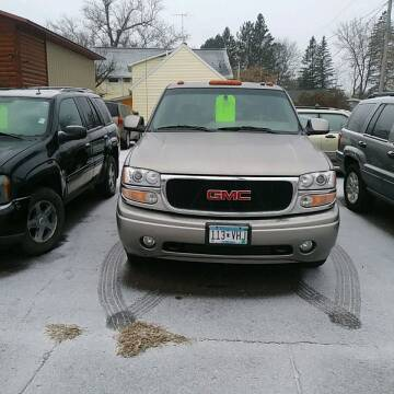 2002 GMC Sierra 1500 for sale at WB Auto Sales LLC in Barnum MN