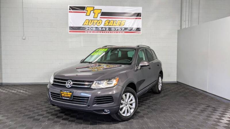 2011 Volkswagen Touareg for sale at TT Auto Sales LLC. in Boise ID