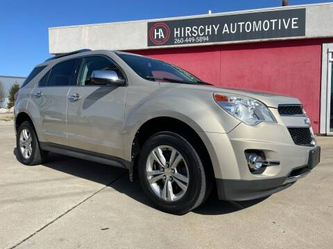 2012 Chevrolet Equinox for sale at Hirschy Automotive in Fort Wayne IN
