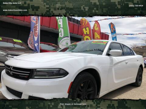 2015 Dodge Charger for sale at Duke City Auto LLC in Gallup NM