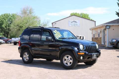 2002 Jeep Liberty for sale at Northern Colorado auto sales Inc in Fort Collins CO