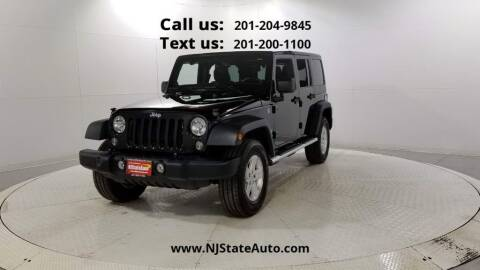 2014 Jeep Wrangler Unlimited for sale at NJ State Auto Used Cars in Jersey City NJ