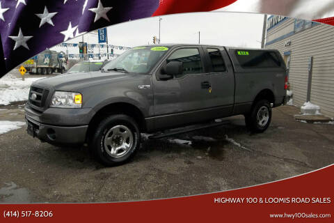 2006 Ford F-150 for sale at Highway 100 & Loomis Road Sales in Franklin WI