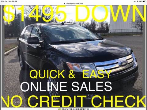 2008 Ford Edge for sale at Cooks Motors in Westampton NJ