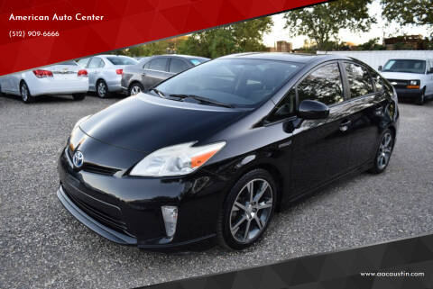 2012 Toyota Prius for sale at American Auto Center in Austin TX