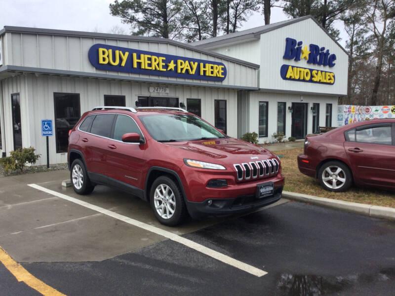 2015 Jeep Cherokee for sale at Bi Rite Auto Sales in Seaford DE