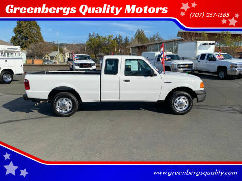 2005 Ford Ranger for sale at Greenbergs Quality Motors in Napa CA