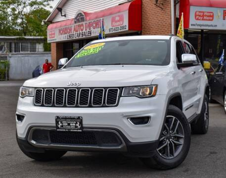 2019 Jeep Grand Cherokee for sale at Foreign Auto Imports in Irvington NJ