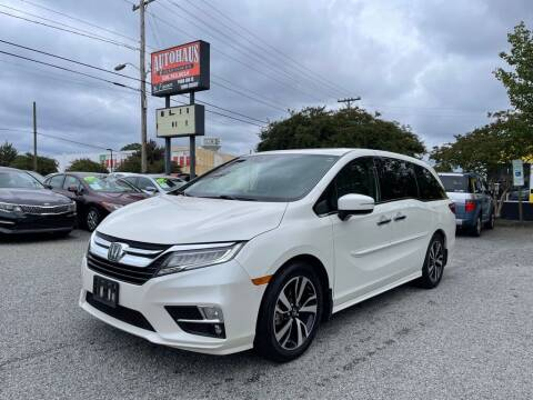 2018 Honda Odyssey for sale at Autohaus of Greensboro in Greensboro NC