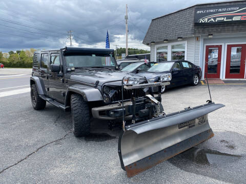 2016 Jeep Wrangler Unlimited for sale at Maple Street Auto Center in Marlborough MA