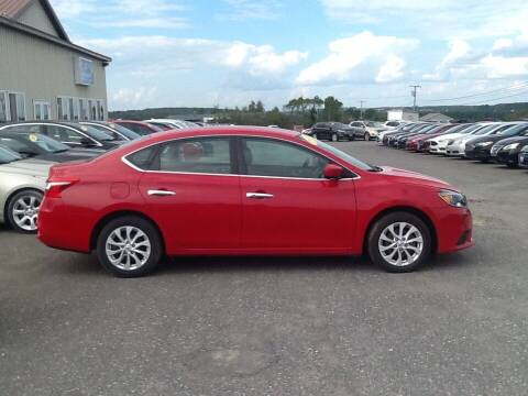 2018 Nissan Sentra for sale at Garys Sales & SVC in Caribou ME