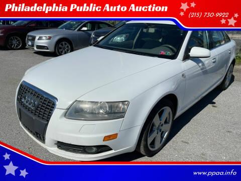 2008 Audi A6 for sale at Philadelphia Public Auto Auction in Philadelphia PA