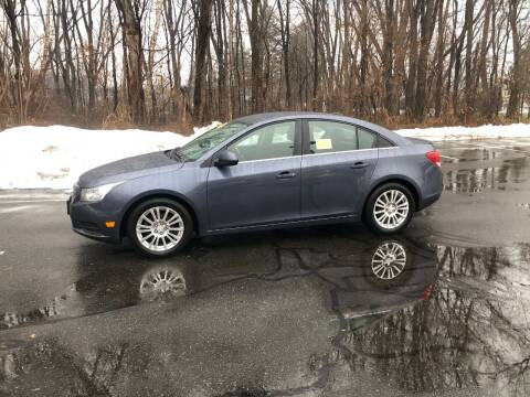 2013 Chevrolet Cruze for sale at Chris Auto South in Agawam MA