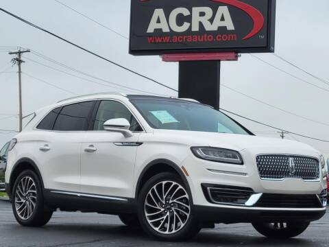 2019 Lincoln Nautilus for sale at BuyRight Auto in Greensburg IN