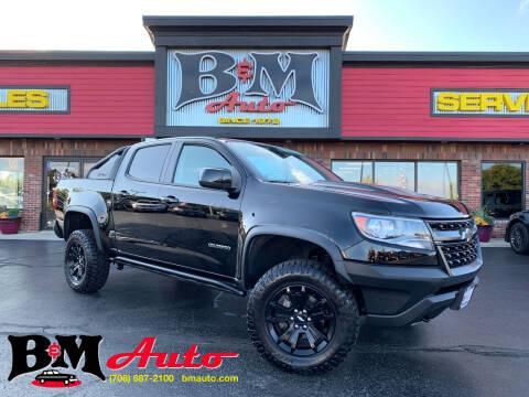 2018 Chevrolet Colorado for sale at B & M Auto Sales Inc. in Oak Forest IL
