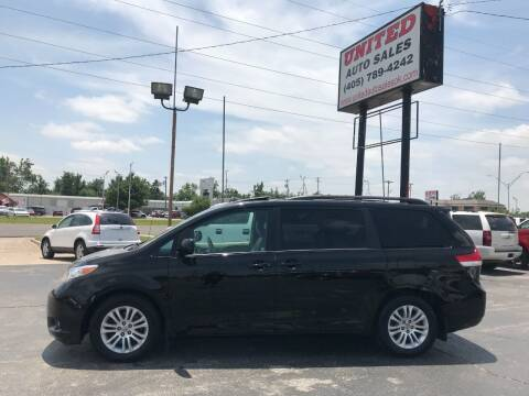 2014 Toyota Sienna for sale at United Auto Sales in Oklahoma City OK