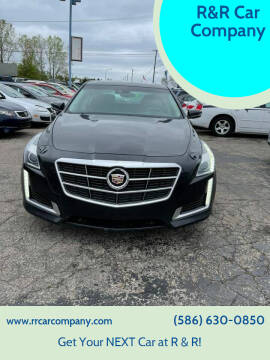 2014 Cadillac CTS for sale at R&R Car Company in Mount Clemens MI