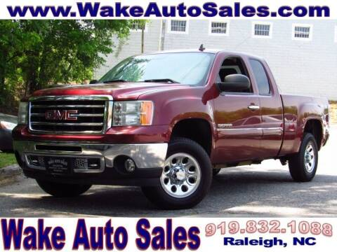 2013 GMC Sierra 1500 for sale at Wake Auto Sales Inc in Raleigh NC