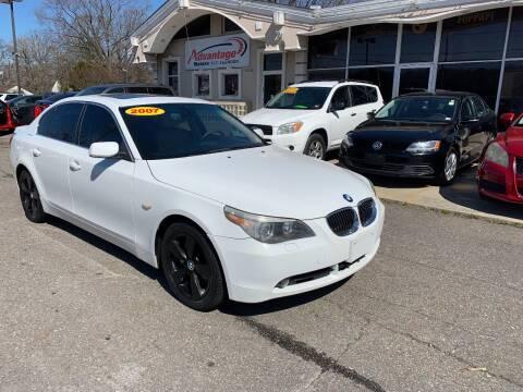 2007 BMW 5 Series for sale at Advantage Motors in Newport News VA