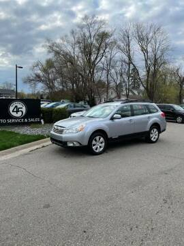 2012 Subaru Outback for sale at Station 45 Auto Sales Inc in Allendale MI