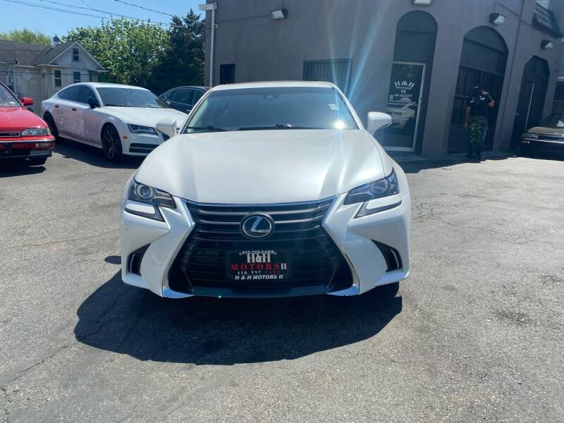 2017 Lexus GS 350 for sale at H & H Motors 2 LLC in Baltimore MD